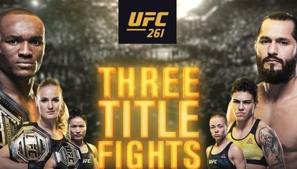 Jorge Masvidal y Kamaru Usman protagonizarán esperada revancha. (UFC)