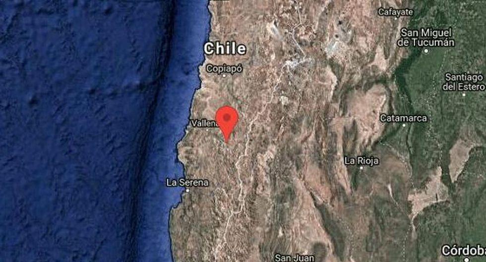 Fuerte sismo de magnitud 5,8 se registró en Chile. | Foto: Google