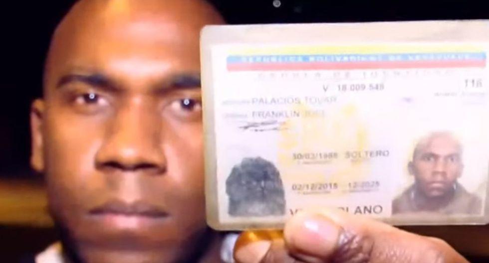 Venezolano denuncia que confundieron su identidad con la del asesino del sobrino de Paolo Guerrero. Foto: Captura de ATV Noticias