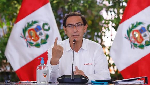 Martín Vizcarra recordó que el renunciante procurador anticorrupción Amado Enco ha emitido documentos en su contra y de autoridades de su Gobierno y se han respetado sus atribuciones y se ha dado respuesta a sus investigaciones. (Foto: Presidencia)