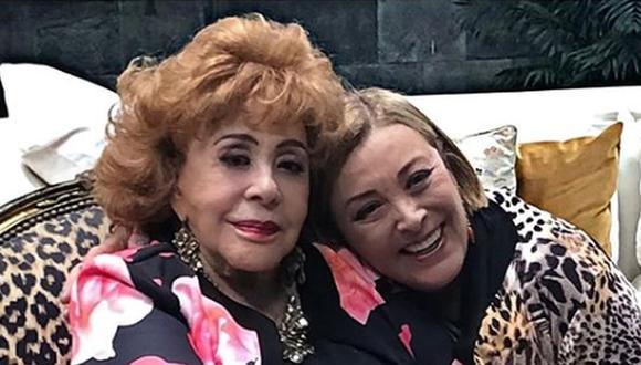Las actrices estuvieron distanciadas por varios años por el amor del empresario Fernando Frade (Foto: Sylvia Pasquel / Instagram)