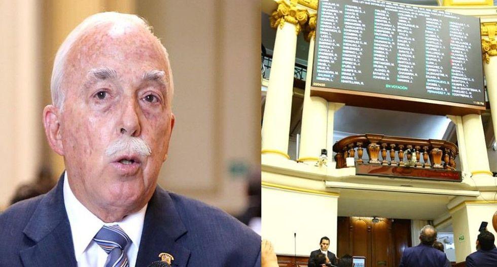 Al excongresista Tubino no le gustó la votación de la nueva norma. (Fotos: GEC/ Congreso de la República)
