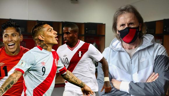 Ricardo Gareca tiene 6 opciones en ataque para el Perú vs Chile. Foto: AFP.