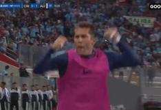 La efusiva celebración de Leao Butrón tras golazo de Alianza ante Cristal | VIDEO