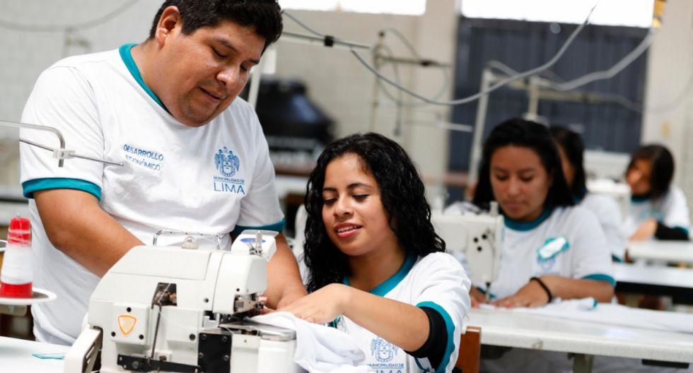 Los talleres están dirigidos a las personas que desean iniciar su propio negocio. (Foto: Municipalidad de Lima)