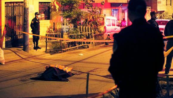 Doble crimen ocurrió en el asentamiento humana Huáscar en San Juan de Lurigancho. (Foto: César Gracos/GEC)