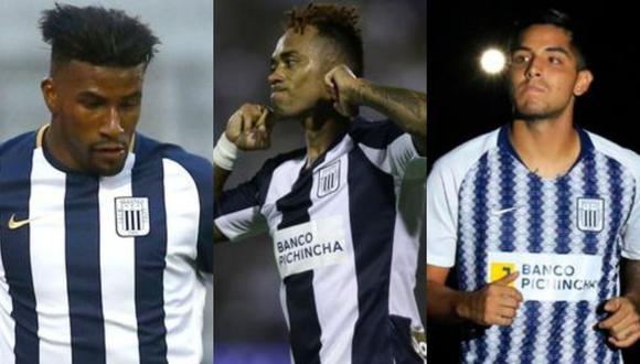 Ascues, Arroé y Duclós ya no forman parte de Alianza Lima. (Fotos: GEC)