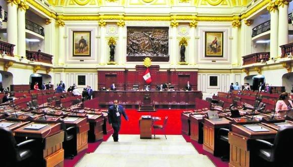 Pleno del Congreso no obtuvo los votos necesarios para eliminar la inmunidad parlamentaria. (Foto: Congreso)
