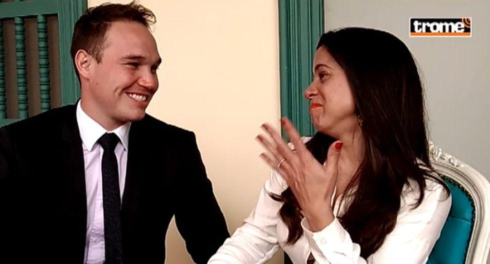 Vanessa Terkes y George Forsyth se casaron.