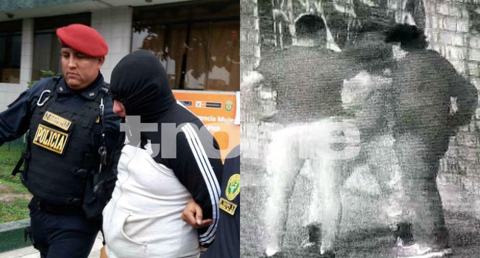 Chapan a 'policía choro' que fue captado robando a transeúntes de madrugada. Foto: Trome
