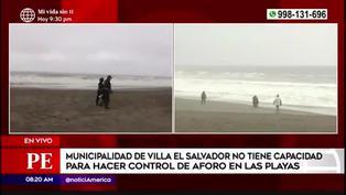 prohíben venta de comidas y bebidas en playas de Villa El Salvador