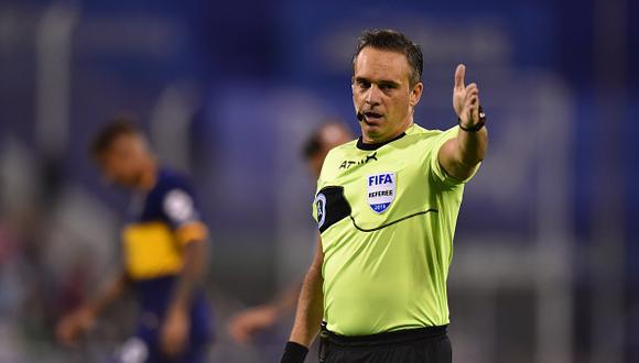 Patricio Loustau será la máxima autoridad en el duelo entre la 'bicolor' y Brasil este jueves. (Foto Getty Images)