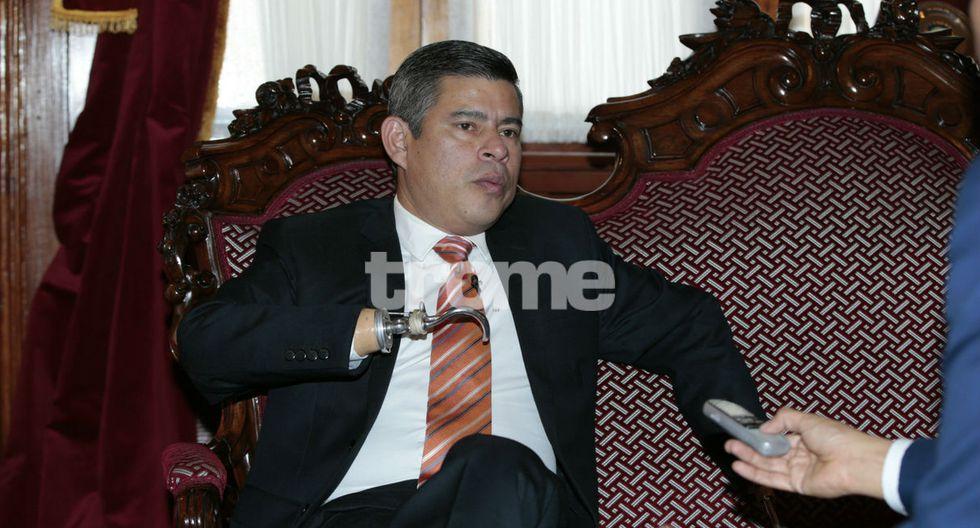 Luis Galarreta en entrevista con Trome. (Kelvin García)
