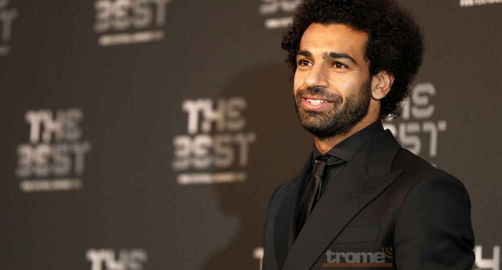 Mohamed Salah se llevó el premio Puskas a mejor gol del año.