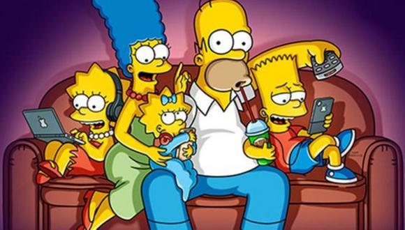 """""""Los Simpson"""" tienen miles de seguidores en el mundo. (Foto: Fox)"""