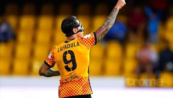 Gianluca Lapadula anotó  triplete con Benevento (Foto: @Benevento)