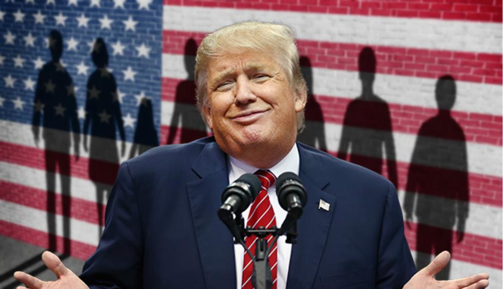"""Donald Trump llama """"animales"""" a algunos inmigrantes ilegales en Estados Unidos"""
