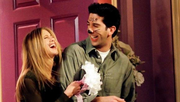 Jennifer Aniston y David Schwimmer habrían iniciado una relación sentimental. (Foto: NBC).
