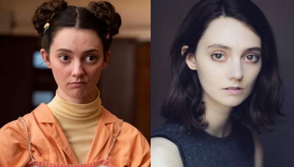"""La joven actriz revela que """"jamás se sintió incómoda"""" con el guión en """"Sex Education"""". (Fotos: Instagram)"""