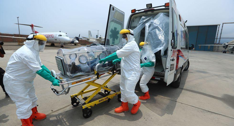 La máxima autoridad de Loreto precisó que siete contagiados se encuentran con ventilación mecánica en la Unidad de Cuidados Intensivos.