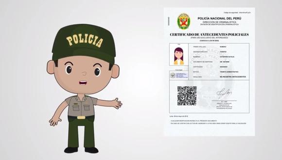 Te explicamos cómo sacar tus antecedentes penales sin salir de casa. (Ministerio del Interior)