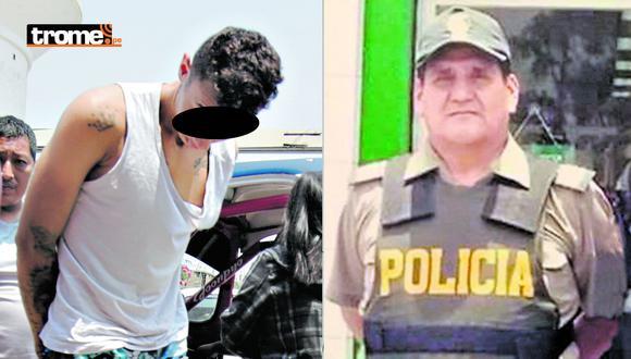 Venezolano y su cómplice cayeron por crimen de valiente policía. (Foto: GEC)